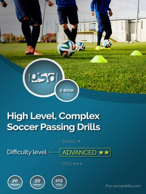 cover image of High Level, Complex Soccer Passing Drills