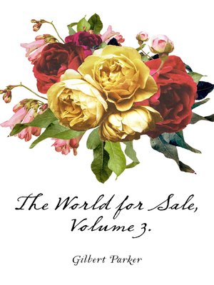 cover image of The World for Sale, Volume 3.