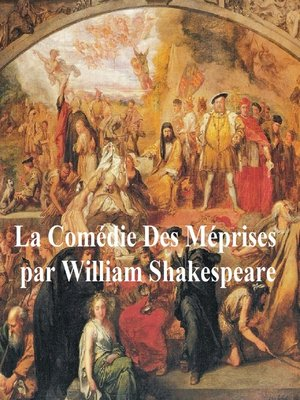 cover image of La Comedie des Meprises, Comedy of Errors in French