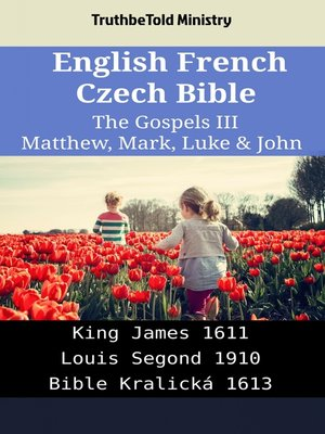 cover image of English French Czech Bible--The Gospels III--Matthew, Mark, Luke & John