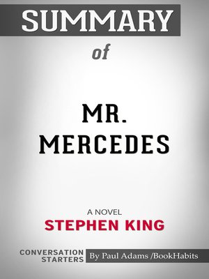 cover image of Summary of Mr. Mercedes