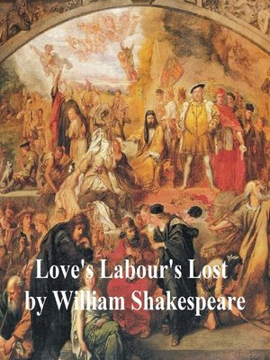 cover image of Love's Labour's Lost with line numbers