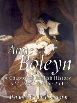 cover image of Anne Boleyn