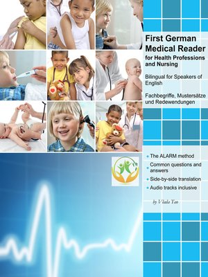 cover image of First German Medical Reader for Health Professions and Nursing