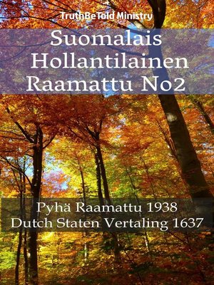 cover image of Suomalais Hollantilainen Raamattu No2