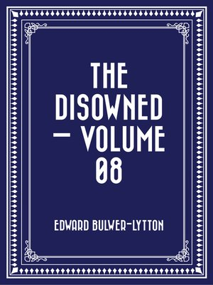 cover image of The Disowned — Volume 08