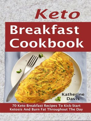cover image of Keto Breakfast Cookbook