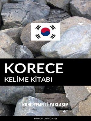 cover image of Korece Kelime Kitabı