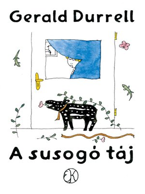cover image of A susogó táj