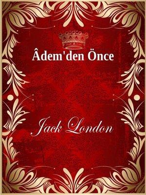 cover image of Âdem'den Önce