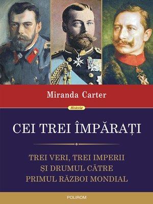 cover image of Cei trei împăraţi