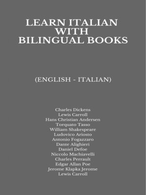 cover image of Learn Italian with Bilingual Books