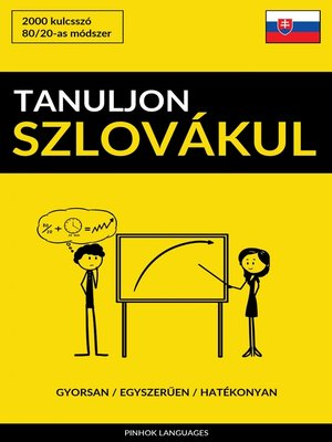 cover image of Tanuljon Szlovákul--Gyorsan / Egyszerűen / Hatékonyan