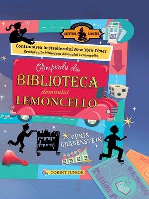 cover image of Olimpiada din Biblioteca Domnului Lemoncello
