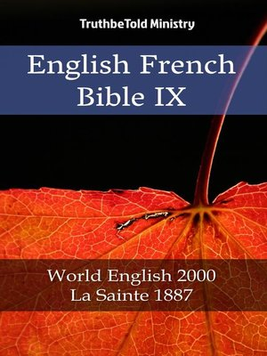 cover image of English French Bible IX