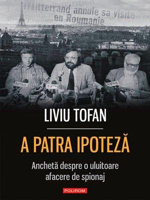 cover image of A patra ipoteză
