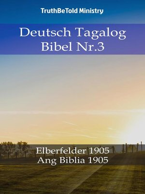 cover image of Deutsch Tagalog Bibel Nr.3