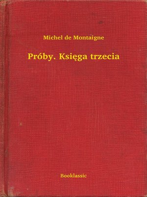 cover image of Próby. Księga trzecia