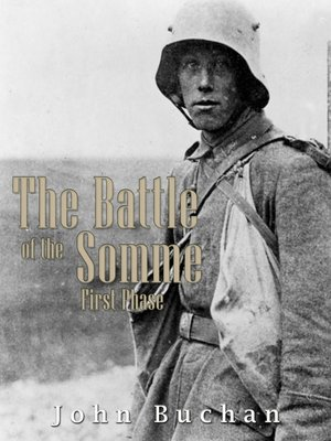 cover image of The Battle of the Somme First Phase