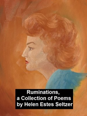 cover image of Ruminations, a Collection of Poems