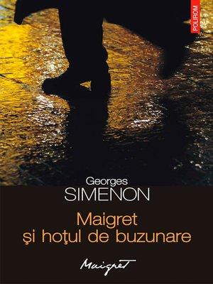 cover image of Maigret și hoțul de buzunare