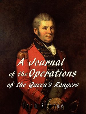 cover image of A Journal of the Operations of the Queen's Rangers