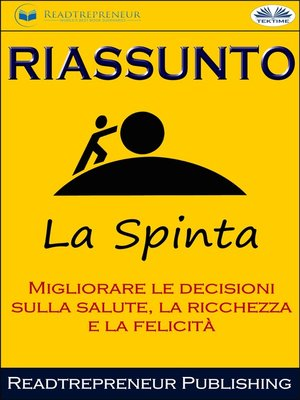 cover image of Riassunto Di La Spinta