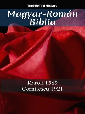 cover image of Magyar-Román Biblia