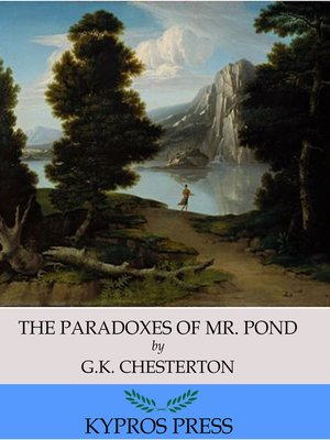 cover image of The Paradoxes of Mr. Pond