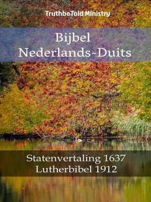 cover image of Bijbel Nederlands-Duits