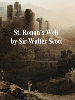 cover image of St. Ronan's Well