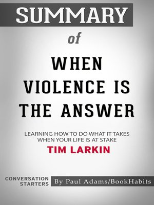 cover image of Summary of When Violence Is the Answer