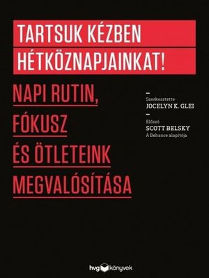 cover image of Tartsuk kézben hétköznapjainkat!