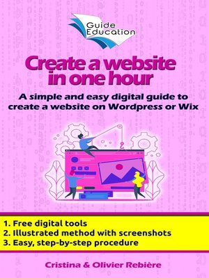 cover image of eGuide Education: Create a free website in 1 hour