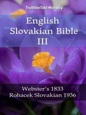 cover image of English Slovakian Bible III