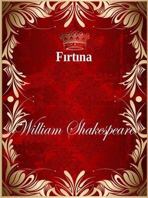 cover image of Fırtına