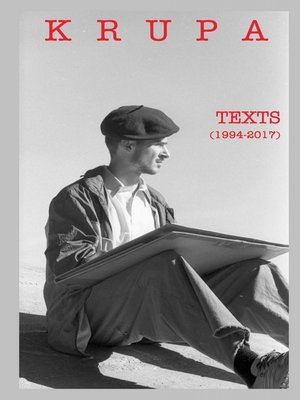 cover image of Texts (1994-2017)