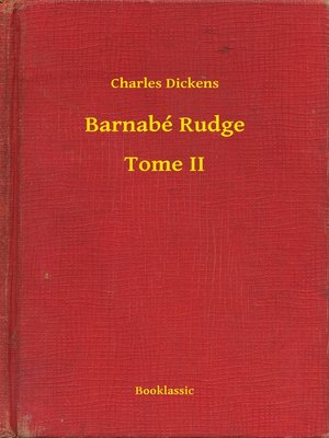 cover image of Barnabé Rudge--Tome II