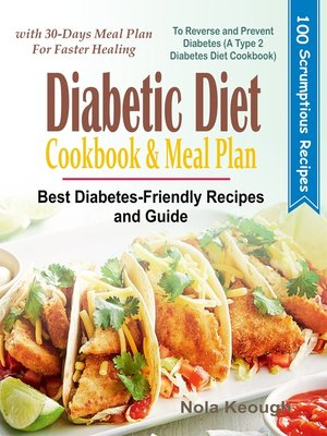 cover image of Diabetic Diet Cookbook and Meal Plan