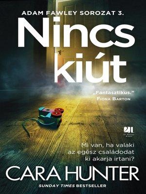 cover image of Nincs kiút