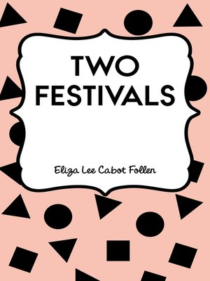 cover image of Two Festivals
