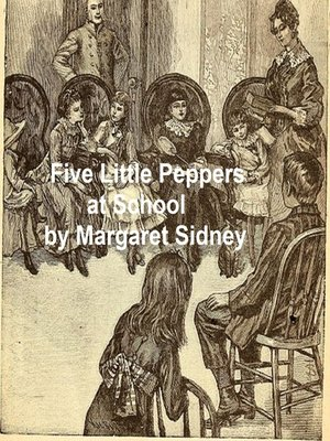 cover image of Five Little Peppers at School