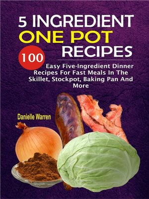 cover image of 5 Ingredient One Pot Recipes