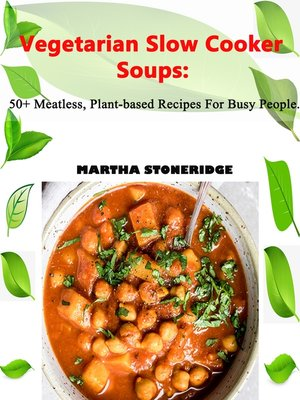 cover image of Vegetarian Slow Cooker Soup