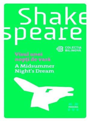 cover image of Visul unei nopți de vară (Ediție bilingvă)