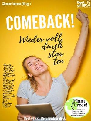 cover image of Comeback! Wieder voll durchstarten