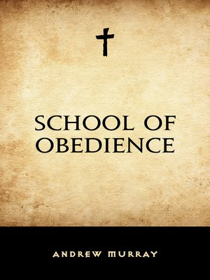 cover image of School of Obedience
