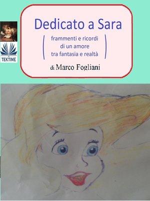cover image of Dedicato a Sara