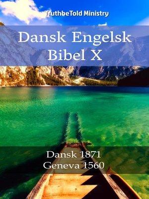 cover image of Dansk Engelsk Bibel X