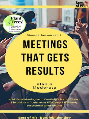 cover image of Meetings that gets Results--Plan & Moderate